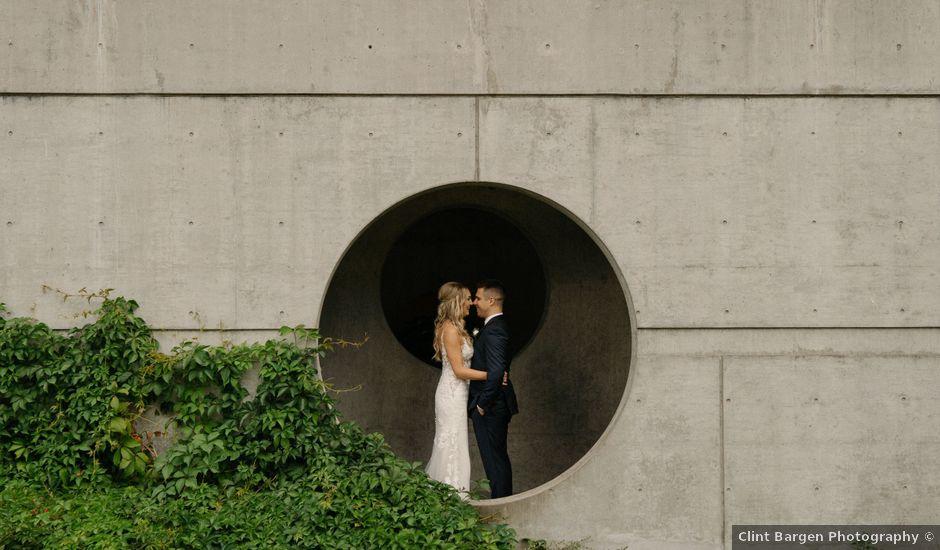 Sam and Brittni's wedding in Vancouver, British Columbia