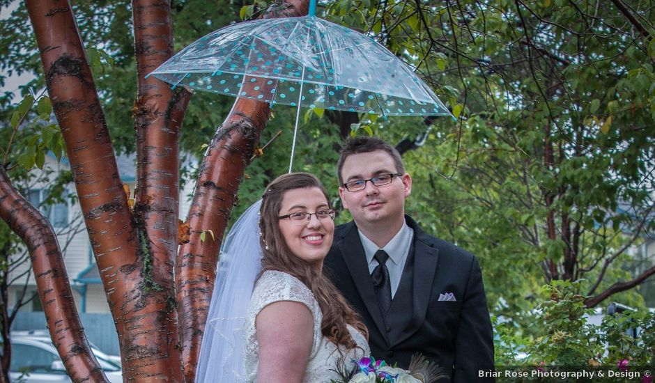 Dylan and Janine's wedding in Edmonton, Alberta