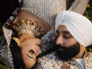 The wedding of Harman and Iqbal