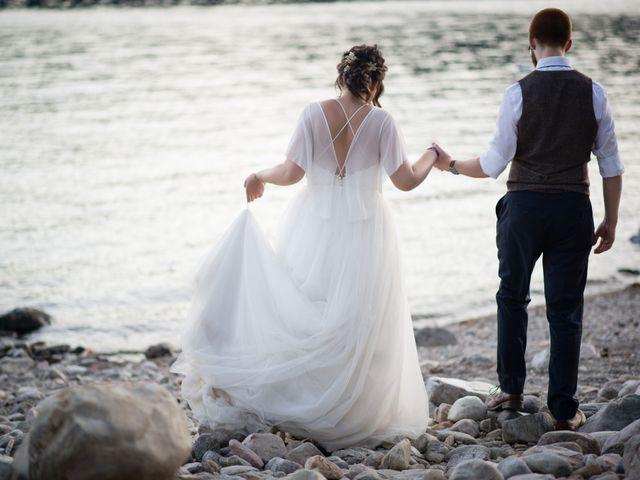 Alex  and Katelyn 's wedding in Gray Creek, British Columbia 4