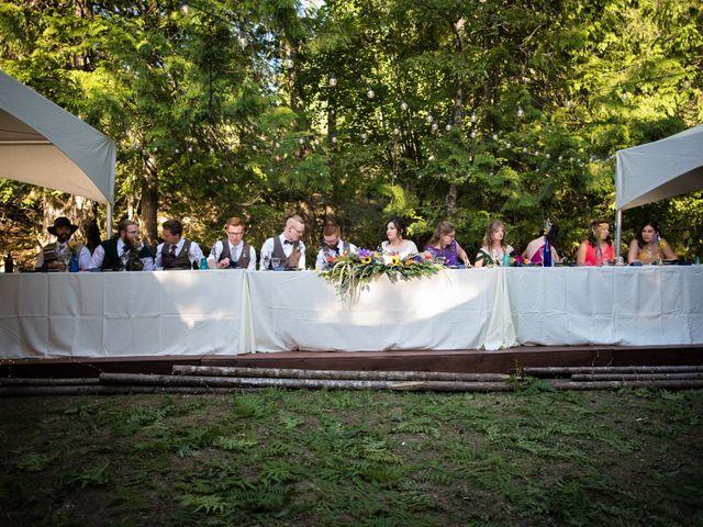 Alex  and Katelyn 's wedding in Gray Creek, British Columbia 6