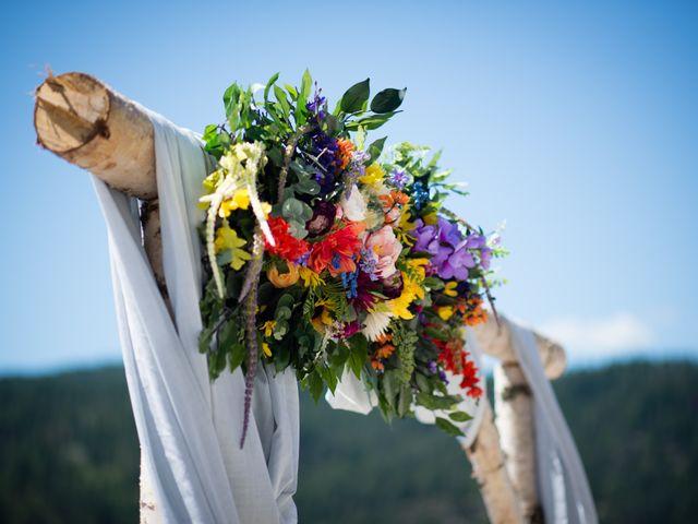 Alex  and Katelyn 's wedding in Gray Creek, British Columbia 10