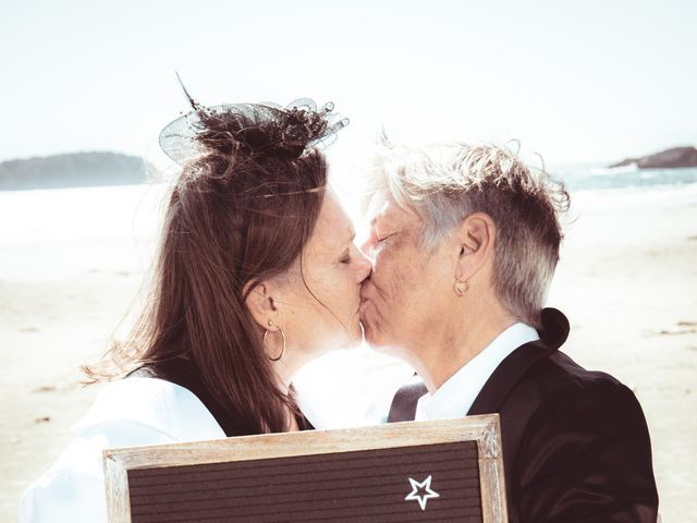 Laurie and Wendy's wedding in Tofino, British Columbia 4