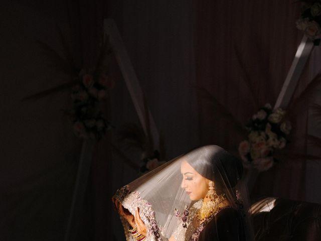 Iqbal and Harman's wedding in Vancouver, British Columbia 1