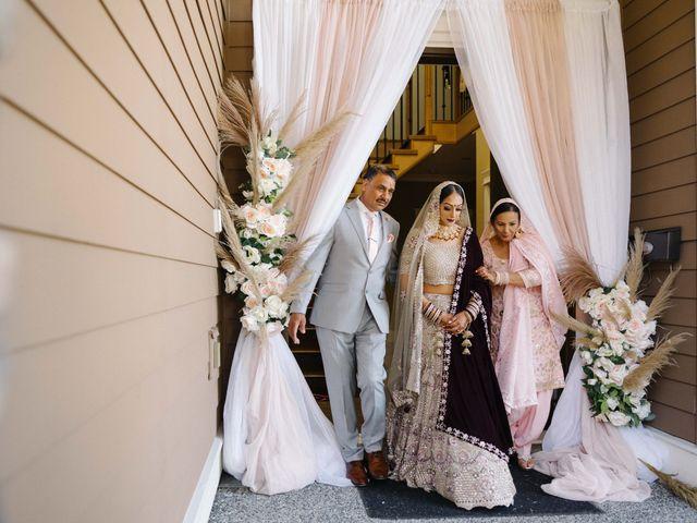 Iqbal and Harman's wedding in Vancouver, British Columbia 6