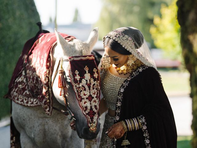 Iqbal and Harman's wedding in Vancouver, British Columbia 8