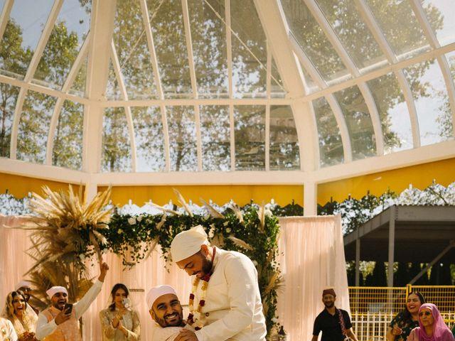 Iqbal and Harman's wedding in Vancouver, British Columbia 10