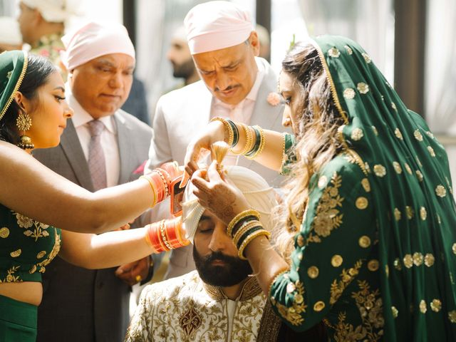 Iqbal and Harman's wedding in Vancouver, British Columbia 12