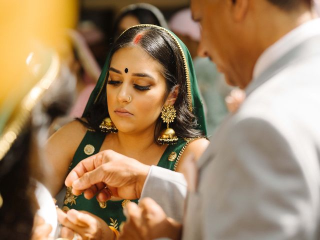 Iqbal and Harman's wedding in Vancouver, British Columbia 13