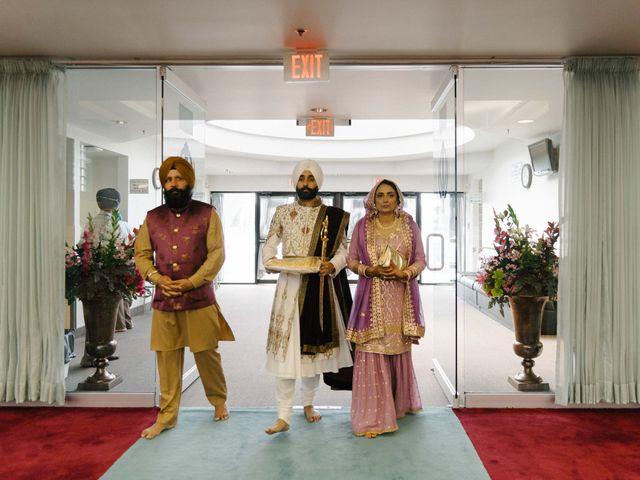 Iqbal and Harman's wedding in Vancouver, British Columbia 14