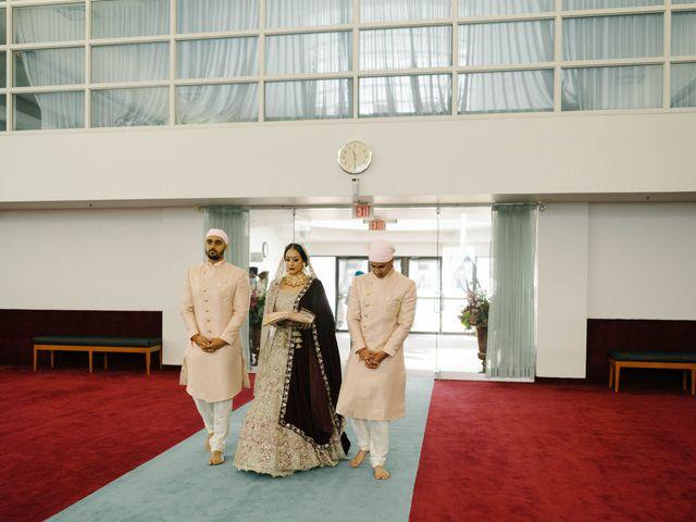 Iqbal and Harman's wedding in Vancouver, British Columbia 16