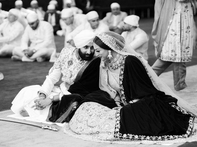 Iqbal and Harman's wedding in Vancouver, British Columbia 17
