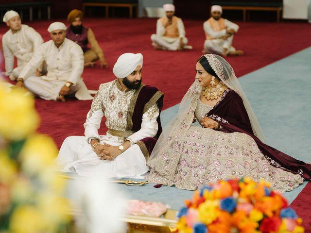 Iqbal and Harman's wedding in Vancouver, British Columbia 18