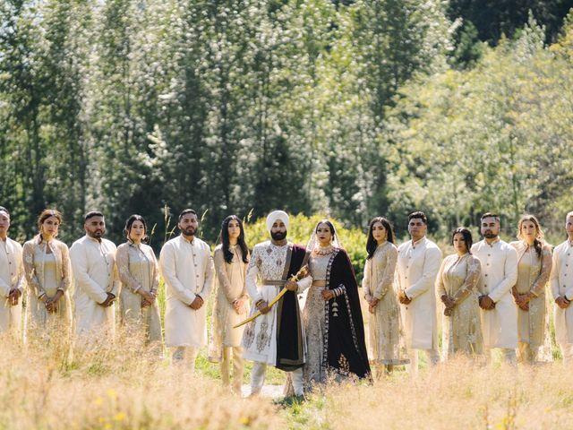 Iqbal and Harman's wedding in Vancouver, British Columbia 25
