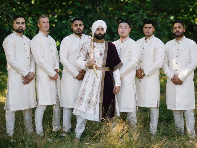Iqbal and Harman's wedding in Vancouver, British Columbia 29