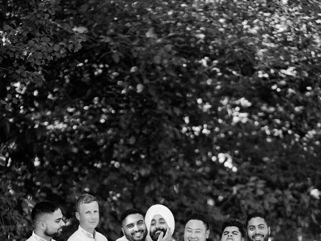 Iqbal and Harman's wedding in Vancouver, British Columbia 30