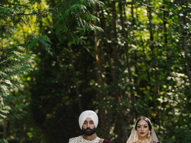Iqbal and Harman's wedding in Vancouver, British Columbia 33