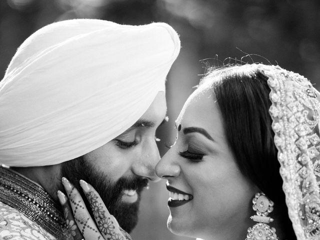 Iqbal and Harman's wedding in Vancouver, British Columbia 37