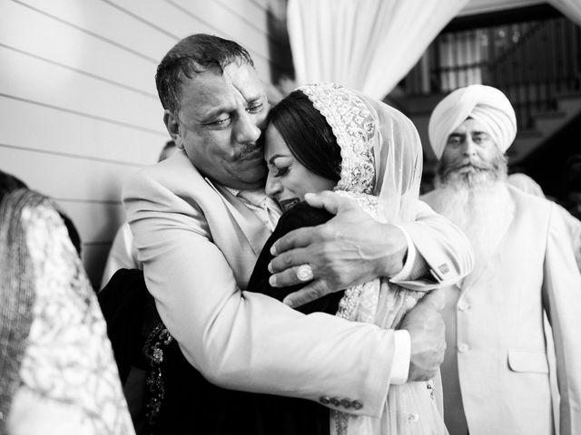 Iqbal and Harman's wedding in Vancouver, British Columbia 38