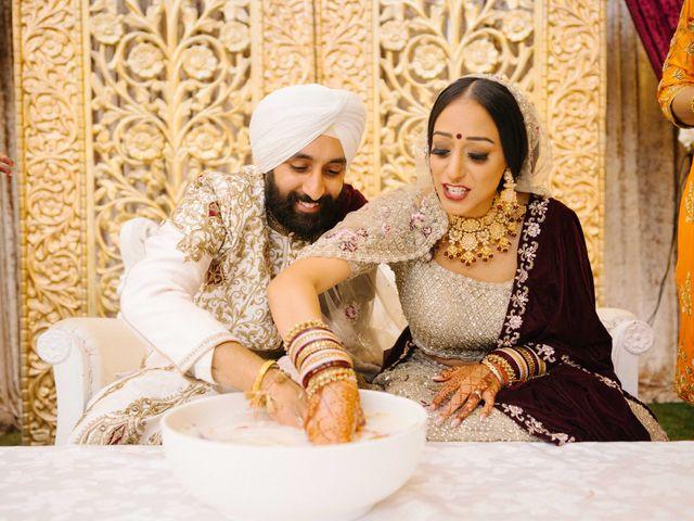 Iqbal and Harman's wedding in Vancouver, British Columbia 41