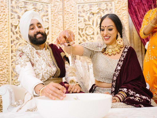 Iqbal and Harman's wedding in Vancouver, British Columbia 42