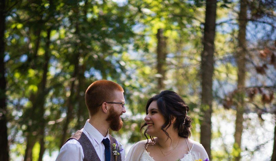 Alex  and Katelyn 's wedding in Gray Creek, British Columbia