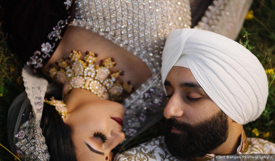 Iqbal and Harman's wedding in Vancouver, British Columbia