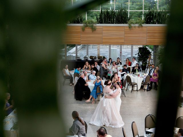 The wedding of Kalyna and Erin