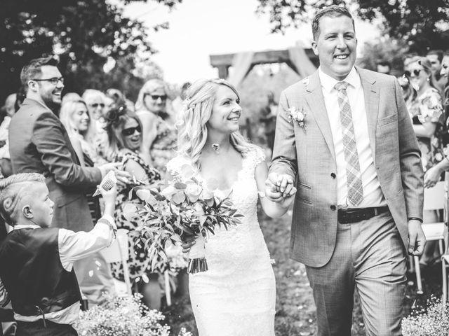 Tom and Nicola's wedding in Cavan, Ontario 1