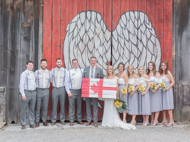 Tom and Nicola's wedding in Cavan, Ontario 5