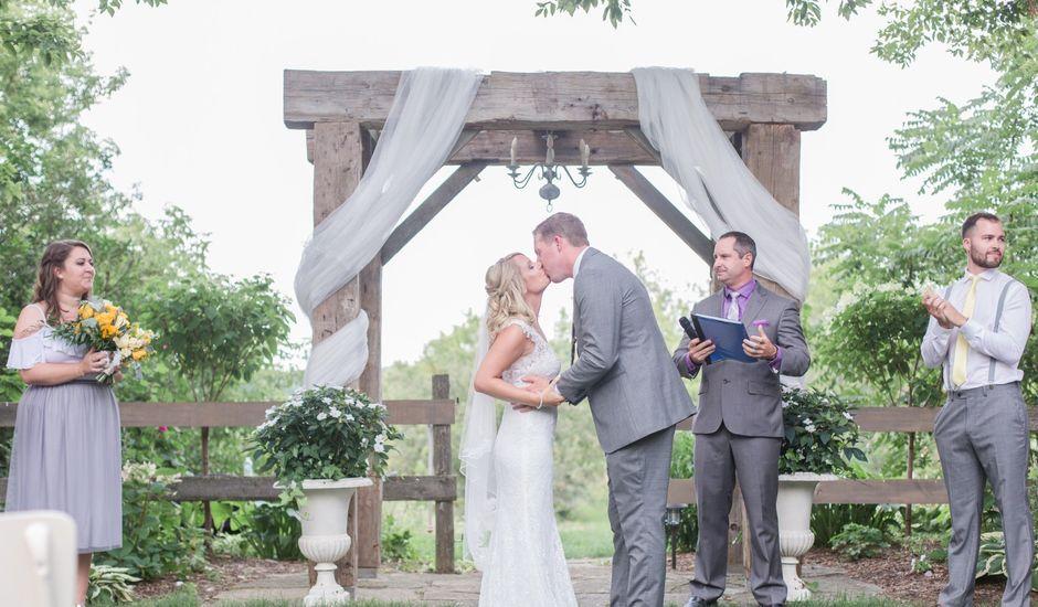 Tom and Nicola's wedding in Cavan, Ontario