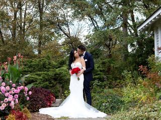 The wedding of Katie and Jason
