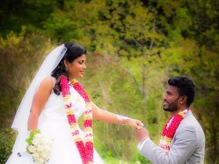 The wedding of Praveena and Lexsan 1