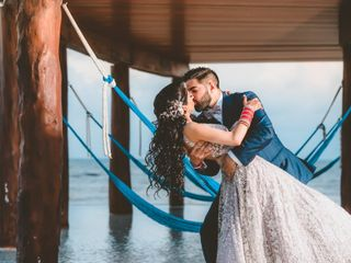 The wedding of Satinder and Daniel