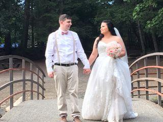 The wedding of Kiera and Erik