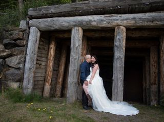 The wedding of Dawn and Christian