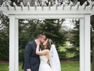 The wedding of Adam and Alysha