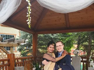 The wedding of Manju Ladhar and Jared Osachuk  2