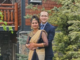 The wedding of Manju Ladhar and Jared Osachuk