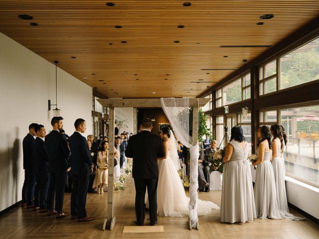 Deb and Ben's wedding in Squamish, British Columbia 16