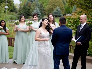 The wedding of Mahtab and Daniel