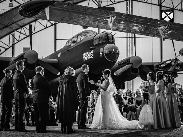 Andrew and Grace's wedding in Calgary, Alberta 8