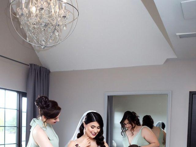 Daniel and Mahtab's wedding in Kettleby, Ontario 1