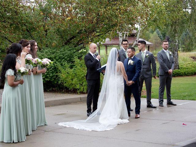 Daniel and Mahtab's wedding in Kettleby, Ontario 33