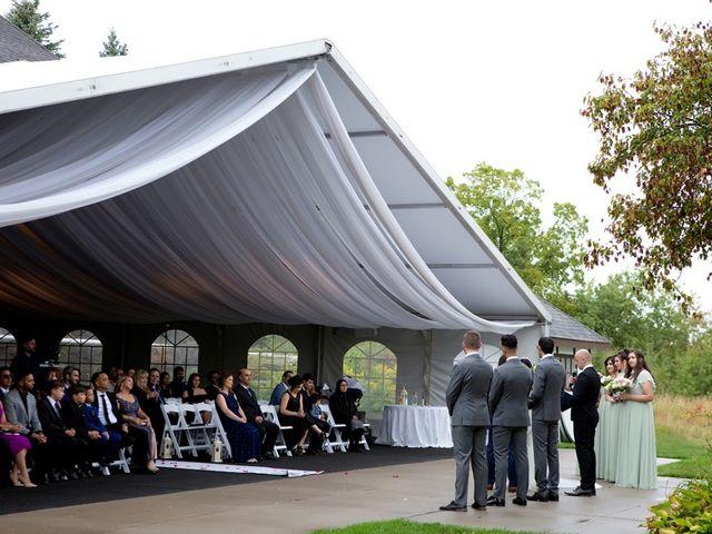 Daniel and Mahtab's wedding in Kettleby, Ontario 36
