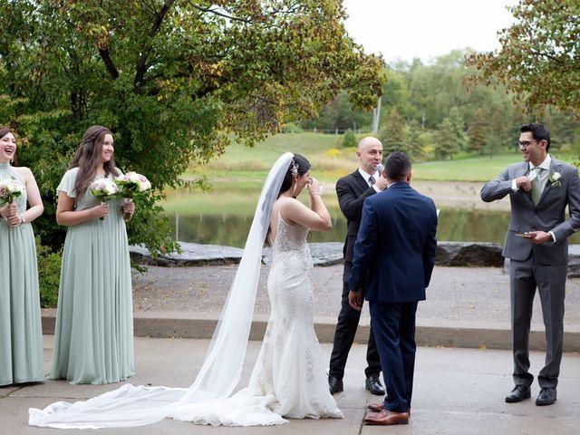 Daniel and Mahtab's wedding in Kettleby, Ontario 37
