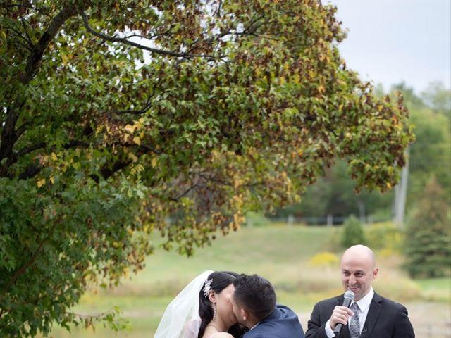 Daniel and Mahtab's wedding in Kettleby, Ontario 42