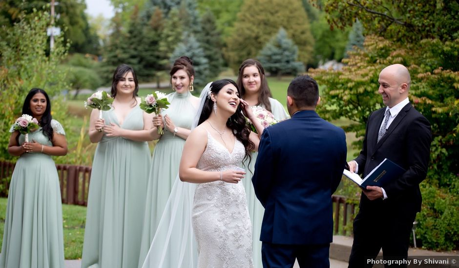 Daniel and Mahtab's wedding in Kettleby, Ontario
