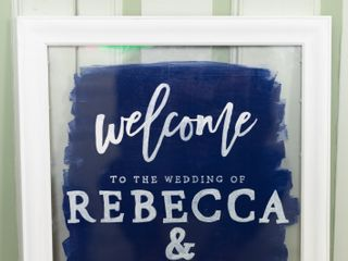 The wedding of Rebecca and Cory 1