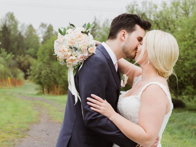 The wedding of Kayla and Adam